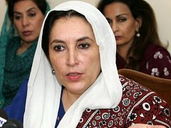 Premiérka Benazir Bhuttová zemřela v roce 2007 při sebevražedném bombovém útoku v Rávalpindí.