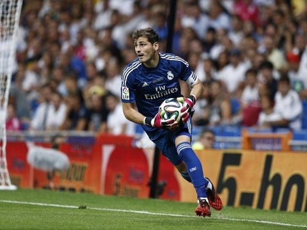 Brankář Realu Madrid Iker Casillas.