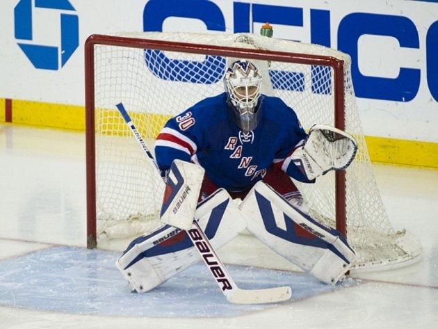 Brankář NY Rangers Henrik Lundqvist.
