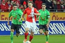 Zdeněk Pospech v zápase proti Hannoveru