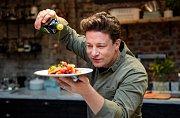 Věhlasný kuchař Jamie Oliver.
