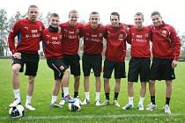 Úspěšní fotbaloví reprezentanti do jednadvaceti let (zleva): Marcel Gecov, Lukáš Vácha, Radek Dejmek, Tomáš Pekhart, Jan Vošahlík, Bořek Dočkal, Jan Kovařík.