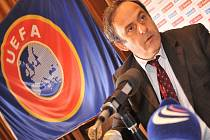 Šéf UEFA Michel Platini.