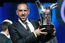Francouzský záložník Franck Ribéry.