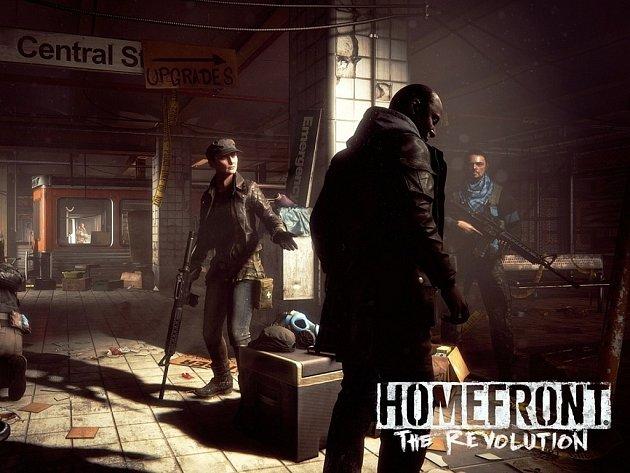Počítačová hra Homefront: The Revolution.