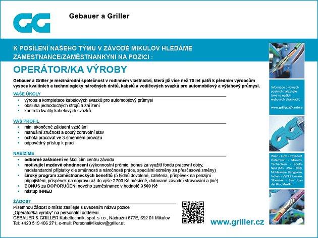 GEBAUER & GRILLER Kabeltechnik, spol. s r.o.