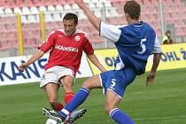 Záložník 1. FC Brno Martin Hanák