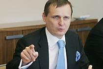 Ministr dopravy Vít Bárta (Věci veřejné).