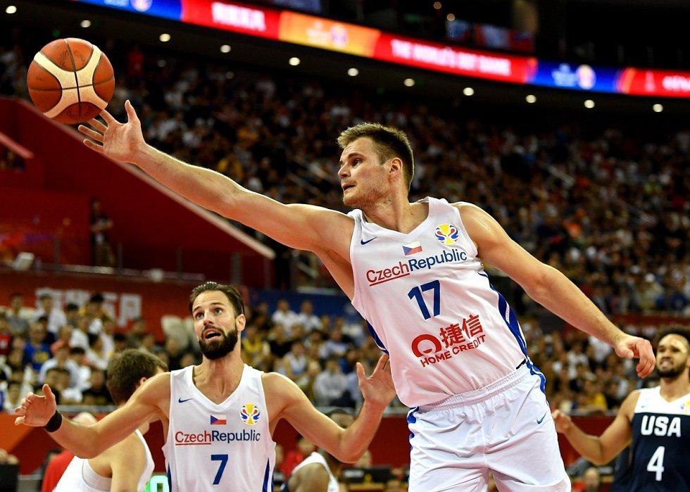 Jaromír Bohačík v utkání mistrovství světa proti USA