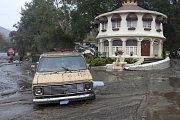 Záplavy a sesuvy půdy v Kalifornii