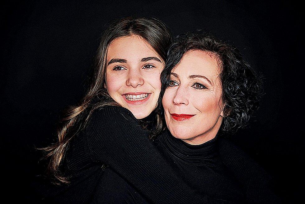 S dcerou Ráchel tvoří velmi sehranou dvojku.
