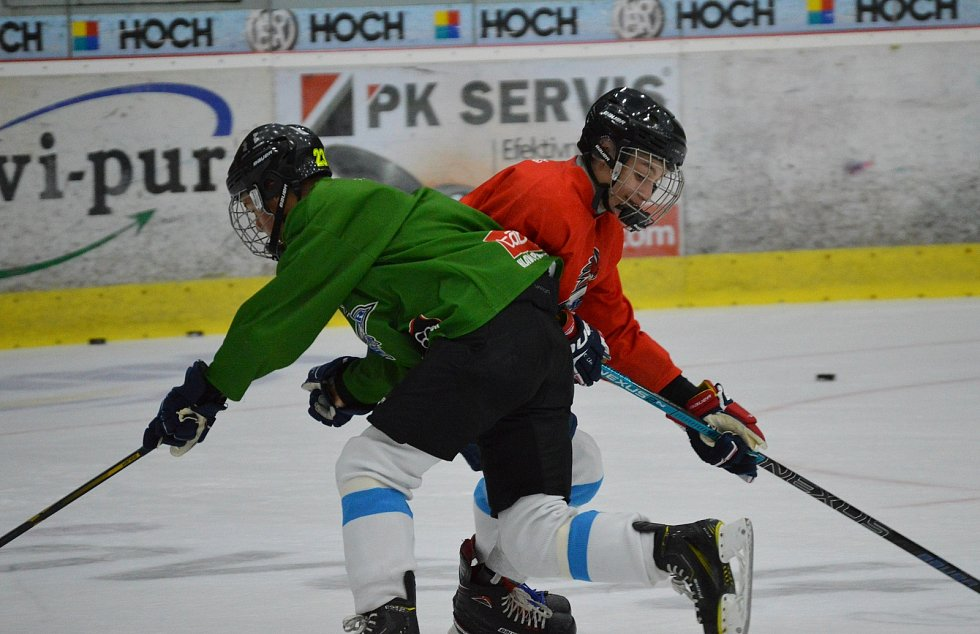 Hokejoví dorostenci mají povolenou přípravu.