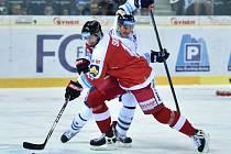 Liberec - Olomouc: Branko Radivojevič (vzadu) a Pavel Skrbek