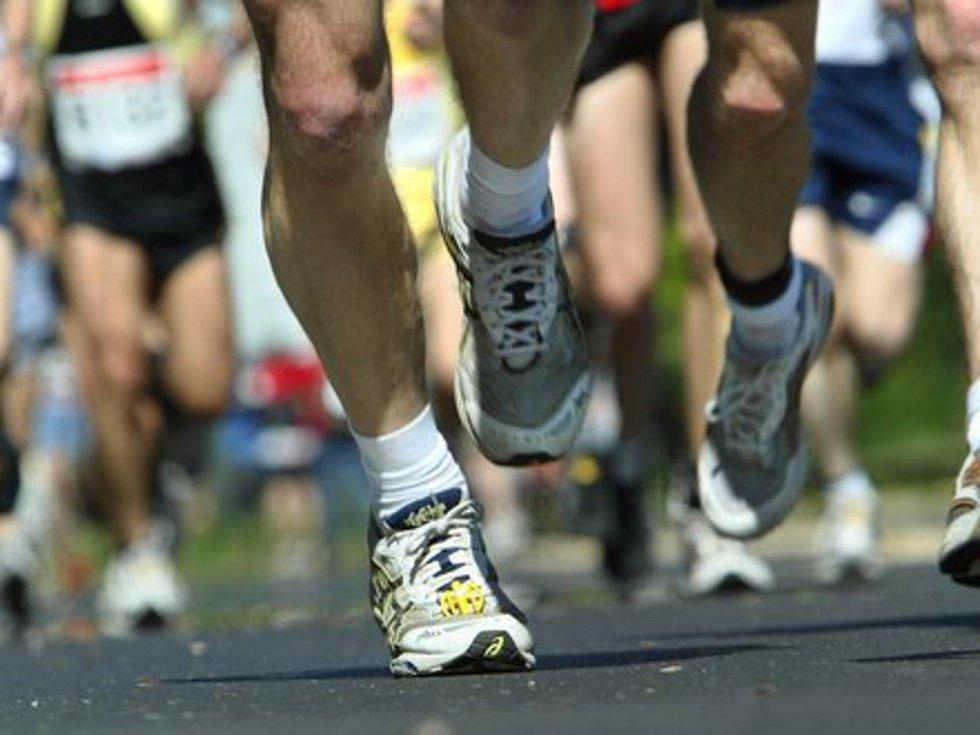 Běh, jogging - ilustrační