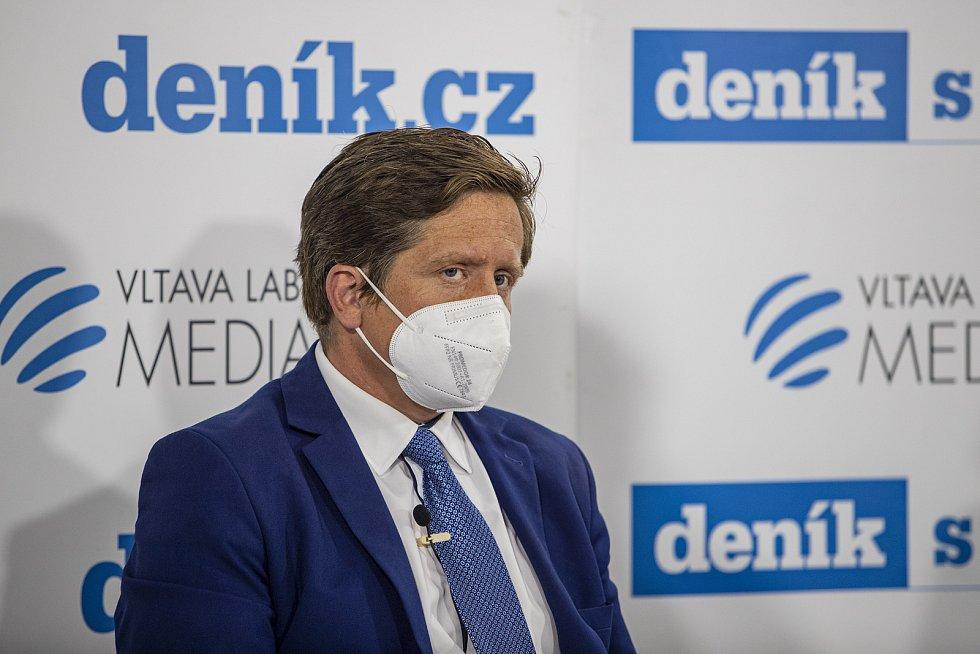 On-line debata Deníku na téma Nebezpečné silnice v Česku. Radek Mátl