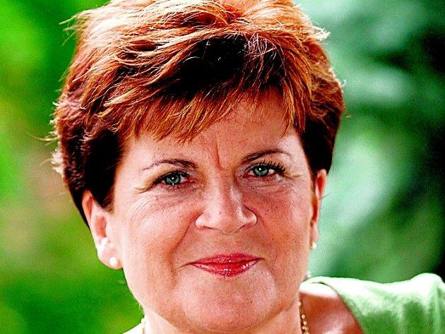 Zakladatelka nadace Naše Dítě Zuzana Baudyšová.