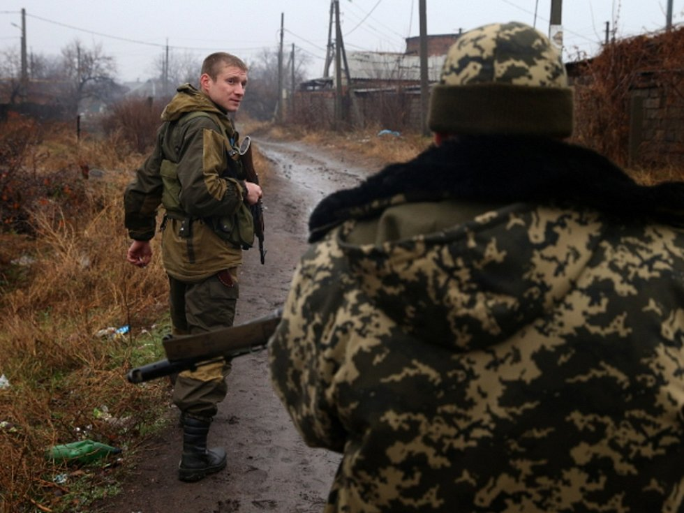 Hlavní část povstaleckých sil na Donbasu
