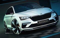 Skici studie Škoda Vision RS