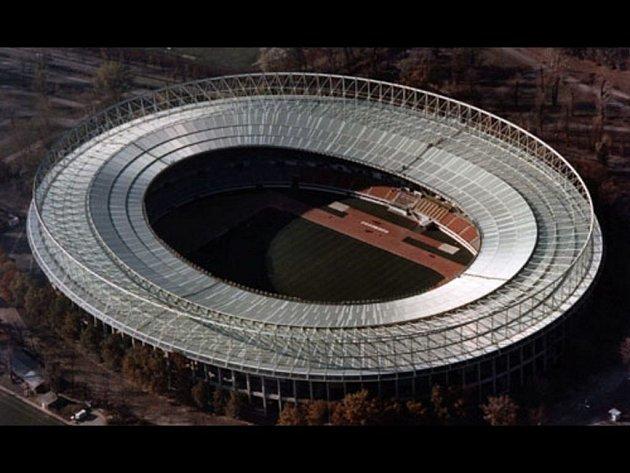Stadion Ernsta Happela ve Vídni.