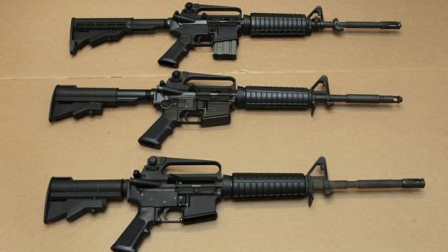 Útočná puška. Ilustrační foto