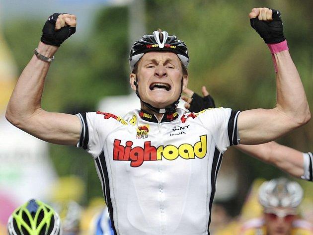 Němec Andre Greipel vyhrál další etapu Vuelty.