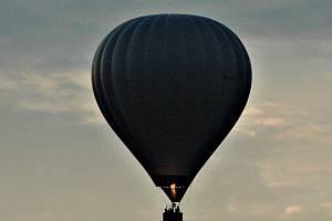 Horkovzdušný balón, ilustrační foto