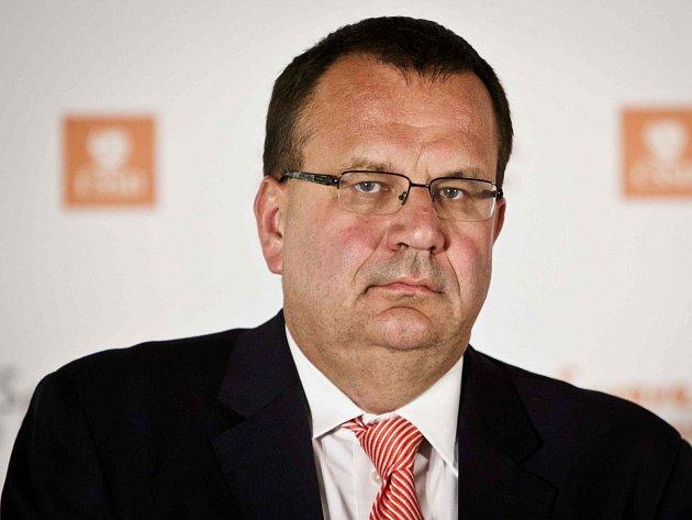 Stínový ministr financí Jan Mládek (ČSSD)