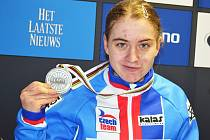 Nikola Nosková s medailí z MS