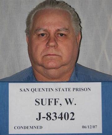 Odsouzený vrah Suff na snímku ze státní věznice San Quentin