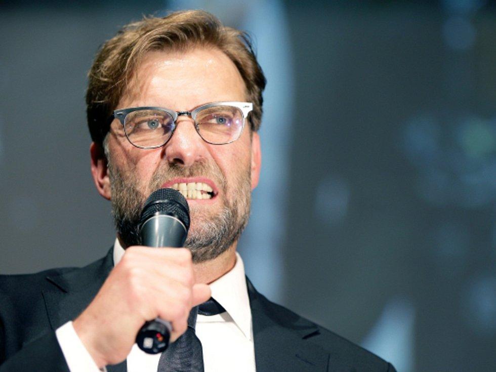 Trenér Jürgen Klopp.