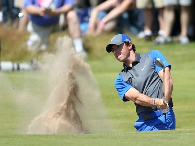 Rory McIlroy na British Open.