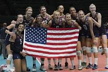 Volejbalistky USA získaly na olympijských hrách v Riu bronz.