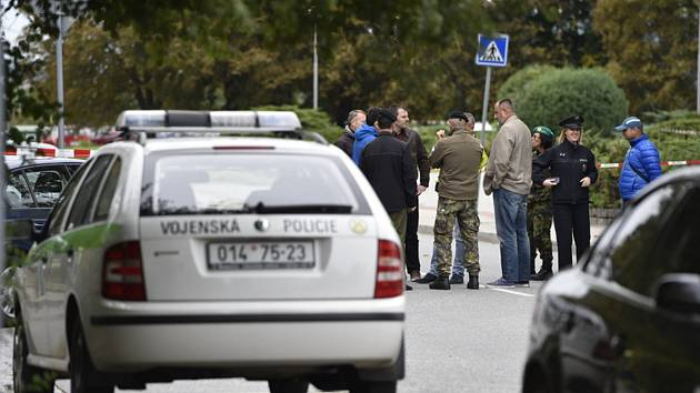 Automobil vojenské policie - ilustrační foto.