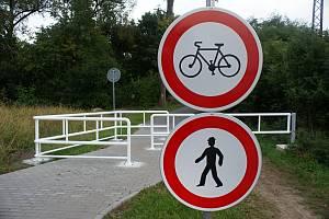 Stavba cyklostezky. Ilustrační foto