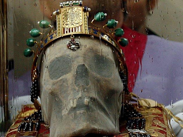 Lebka svatého Václava