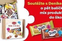 Zapojte se sDeníkem do soutěže o pět balíčků mix produktů do školy.