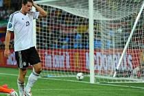 Německý superkanonýr Mario Gomez.