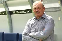 Trenér Slovácka Stanislav Levý.
