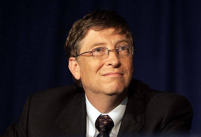 3. Bill Gates - celkové jmění - 58 mld.$ / Microsoft Corp/