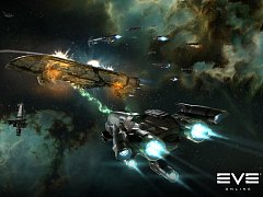 Počítačová hra EVE Online.