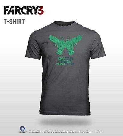 Soutěžní tričko smotivem počítačové hry Far Cry 3.