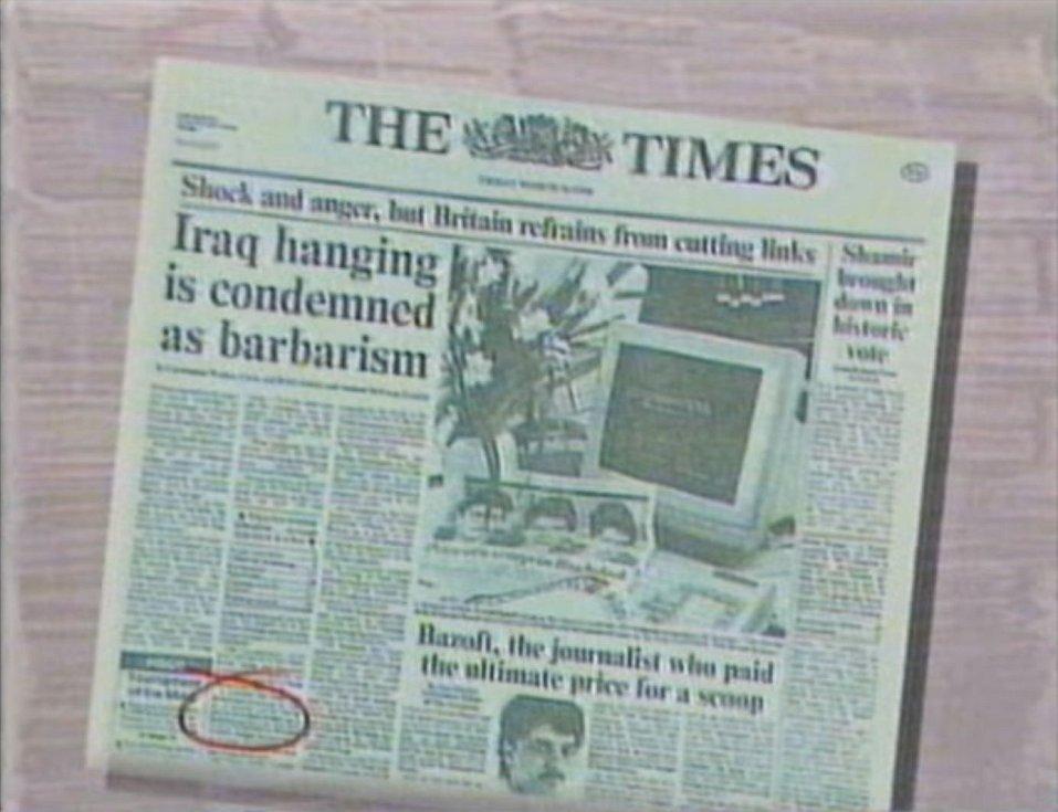 Poprava britského novináře Farzada Bazofta vyvolala okamžitě rozsáhlé protesty mezinárodní veřejnosti i světového tisku