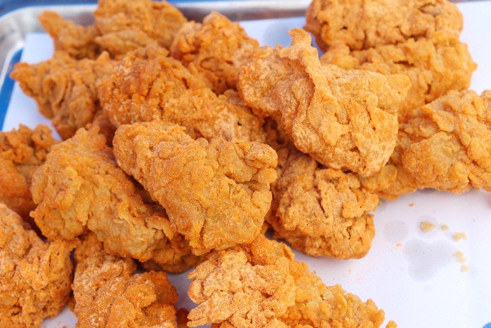 Smažené kuřecí kousky