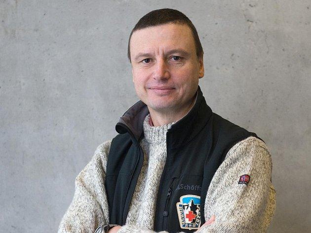 Náčelník Horské služby ČR Jiří Brožek.