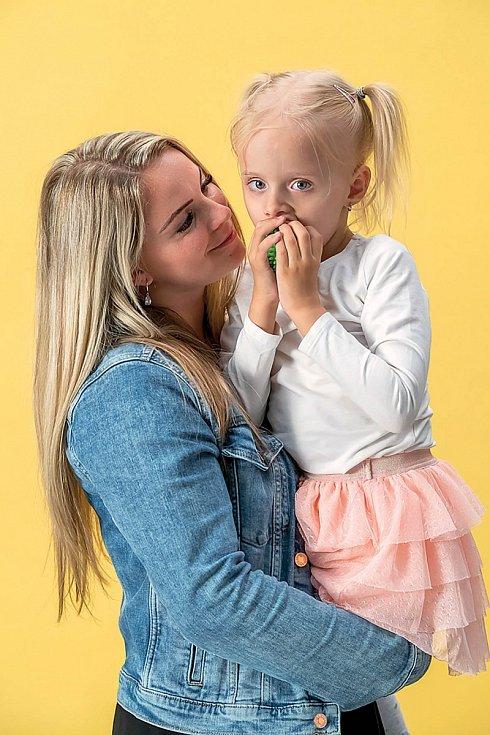 Lexinka se narodila se vzácnou genetickou vadou.