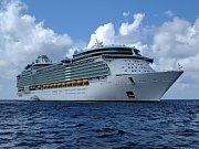 9. Liberty of the Seas - délka 339 metrů, hrubá tonáž 154 407 GT