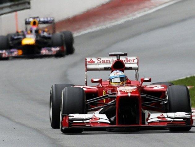 Fernando Alonso během trnéninku na Velkou cenu Kanady.