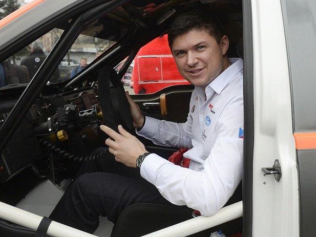 Závodník Martin Prokop.