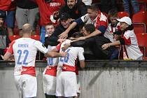 Slavia v Edenu porazila Union Berlín.