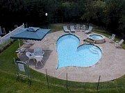 Bazén ve tvaru srdce